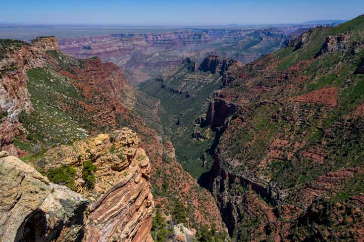 Saddle Mountain Overlook Grand Canyon Colorado RIver-min