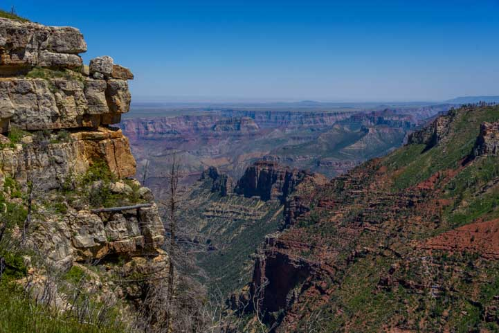Grand Canyon Saddle Mountain Overlook Arizona-min