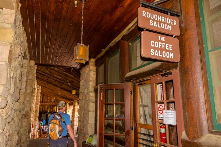 Roughrider Saloon and Coffee Lounge Grand Canyon Lodge North Rim-min