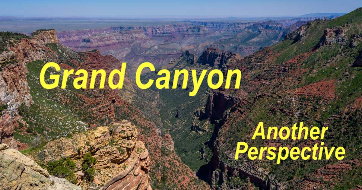 Saddle Mountain Overlook above the Colorado River in Grand Canyon Arizona-min