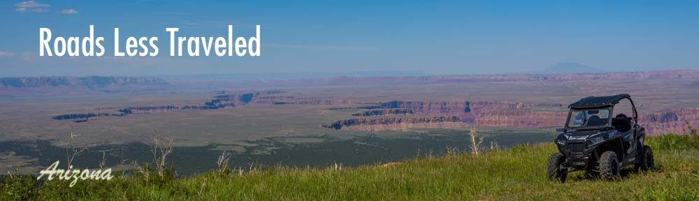 Arizona RV and RZR side-by-side trips and hiking adventures at Grand Canyon