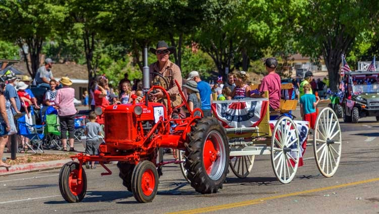 4th of July celebration in Kanab Utah-min