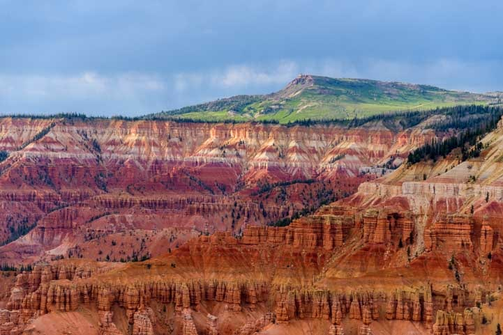 View Cedar Breaks National Monument Utah-min