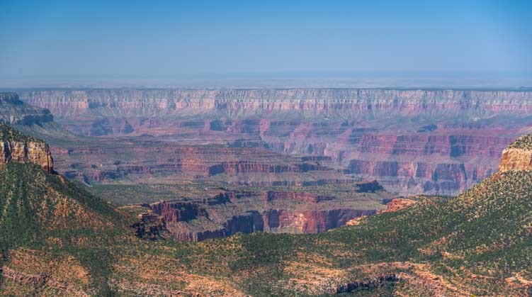Grand Canyon overlook at Timp Point-min