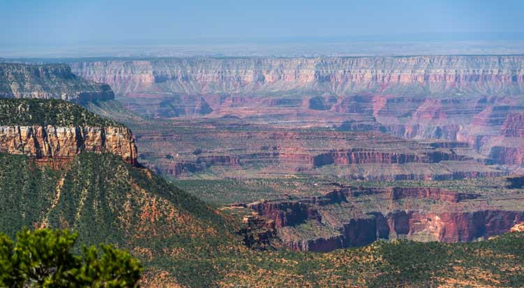 Grand Canyon view at Timp Point-min