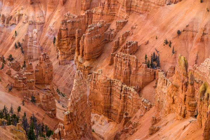 Pinnacles at Cedar Breaks National Monument Utah-min