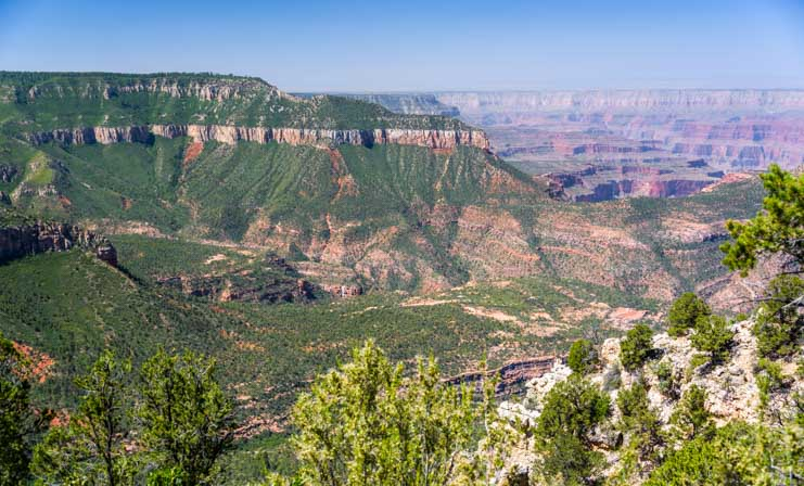 Timp Point Overlook view at Grand Canyon-min