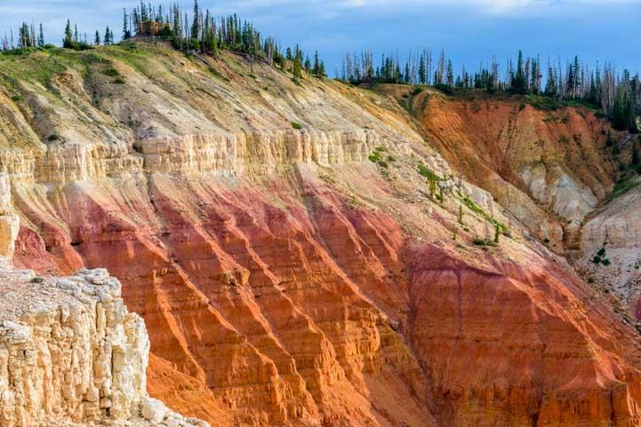 Golden hour Cedar Breaks National Monument Utah-min