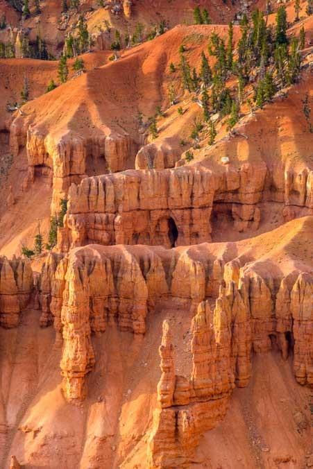 Towers and pinnacles Cedar Breaks National Monument Utah-min