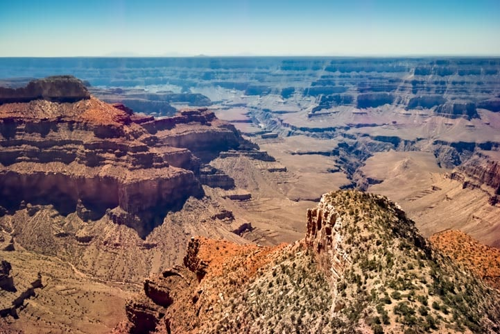 Stunning view at Point Sublime on North Rim of Grand Canyon-min