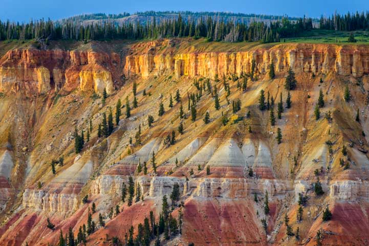 Colorful Cedar Breaks National Monument Utah Point Supreme-min