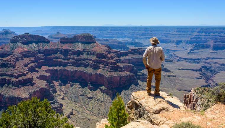 Point Sublime Overlook Grand Canyon North Rim Arizona-min