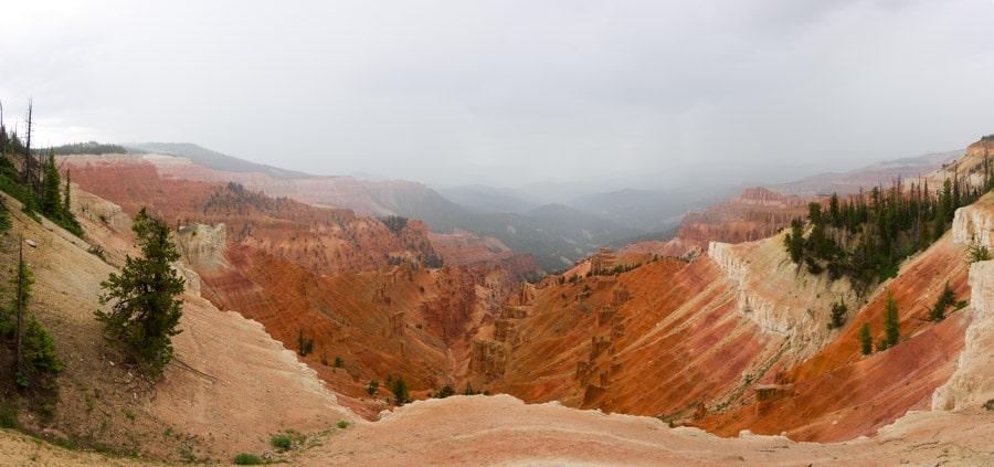 Cedar Breaks National Monument whiteout-min
