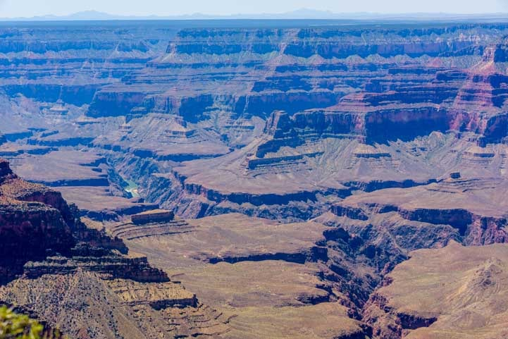 Grand Canyon carved by the Colorado River at Point Sublime Overlook-min
