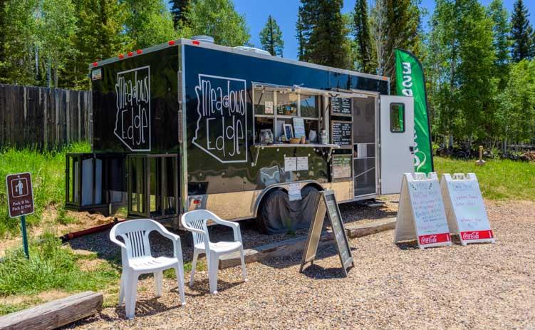Meadow's Edge Coffee Kiosk North Rim Country Store Grand Canyon Arizona-min
