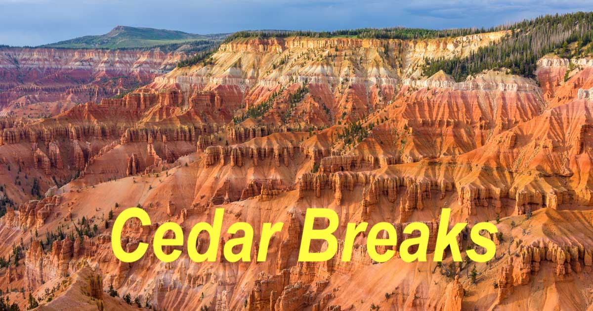 Cedar Breaks National Monument RV trip in Utah-min