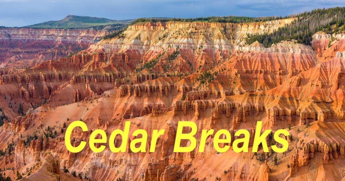 Cedar Breaks National Monument RV trip in Utah-min