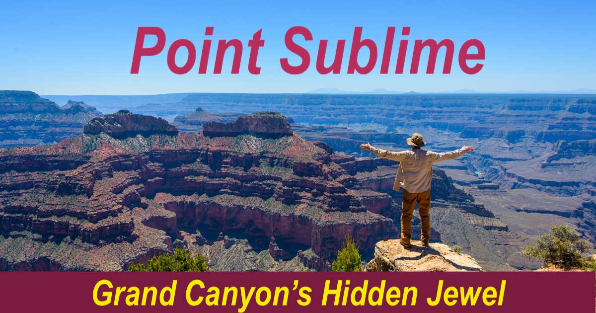 Pt. Sublime Overlook at Grand Canyon North Rim Arizona-min