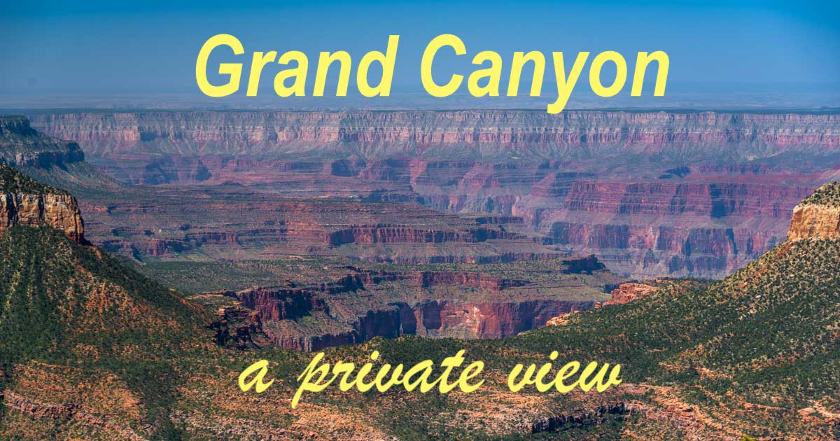 Timp Point Overlook Grand Canyon Arizona-min