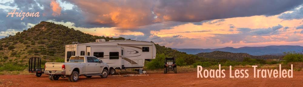 Arizona RV camping trips and travel adventures