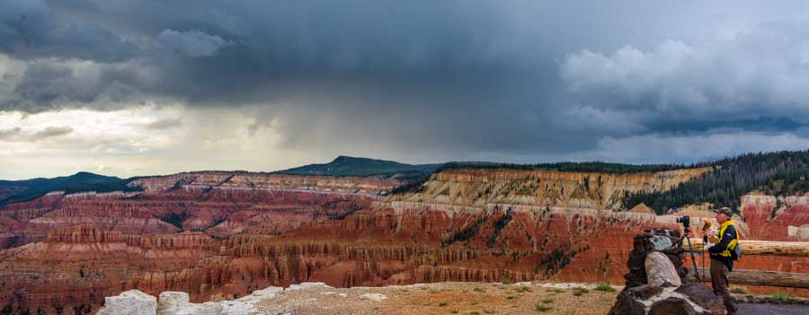 Photography at Cedar Breaks National Monument Utah-min