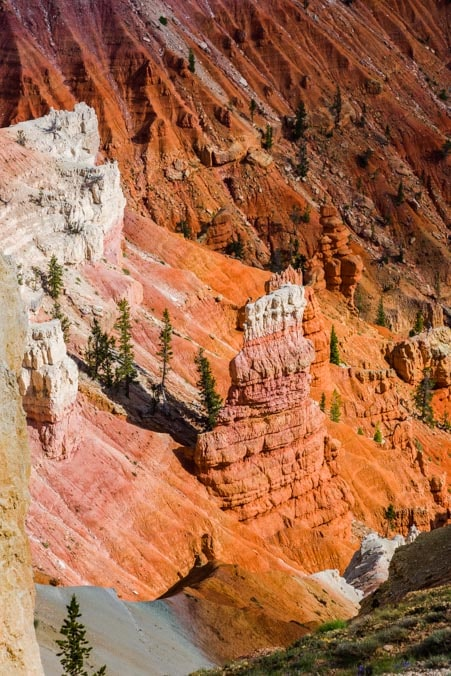 Chessmen Overlook Cedar Breaks National Monument Utah-min