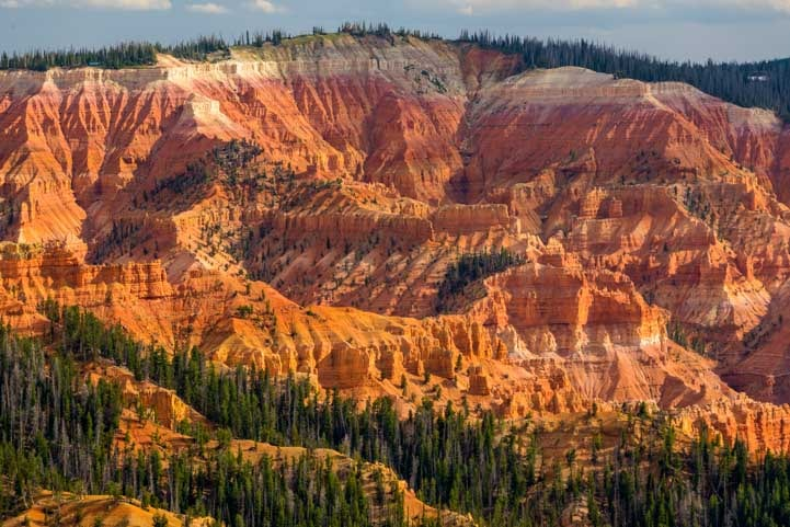 Cedar Breaks National Monument Utah Golden Hour-min