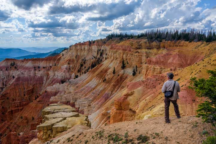 Colorful Cedar Breaks National Monument Utah-min
