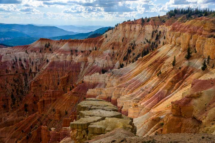 Beautiful Cedar Breaks National Monument Utah-min