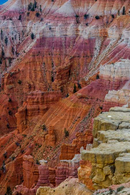 Pink and orange Cedar Breaks National Monument Utah-min