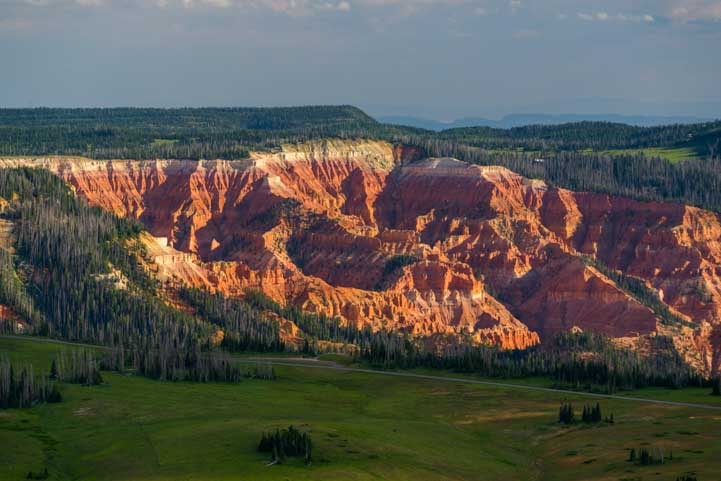 Cedar Breaks National Monument from Brian Head-min