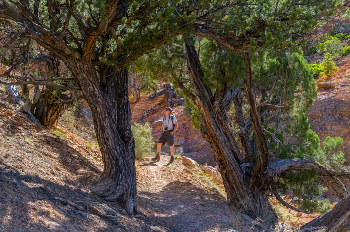 Arches Trail Red Canyon Utah hiking-min
