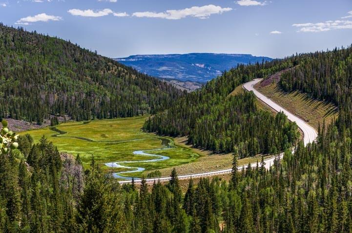 Fish Lake Scenic Drive Utah-min
