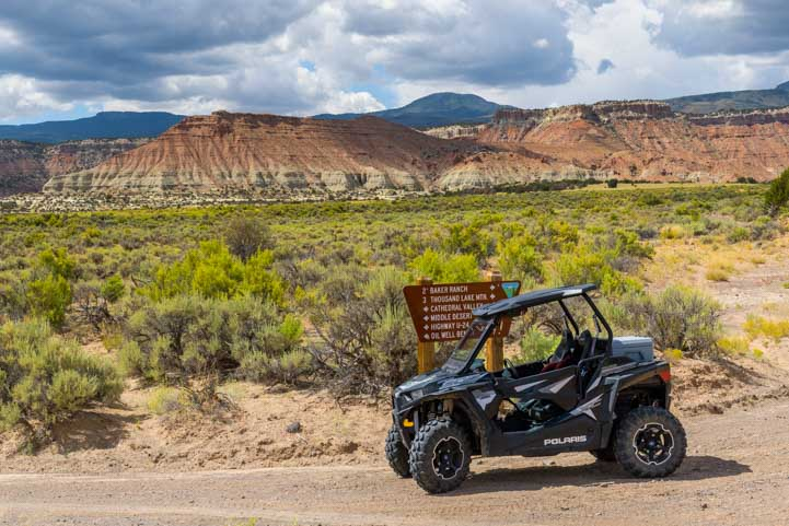 RZR ride in Capitol Reef National Park-min
