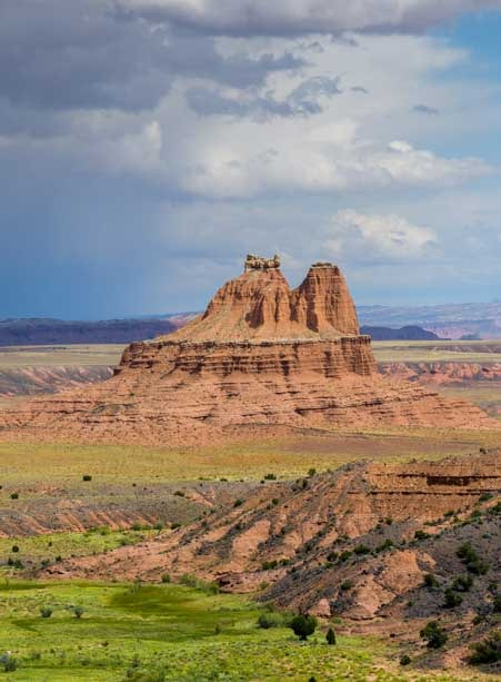 Storm in Capitol Reef National Park Utah-min
