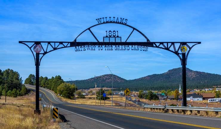 Williams Arizona Gateway to the Grand Canyon-min