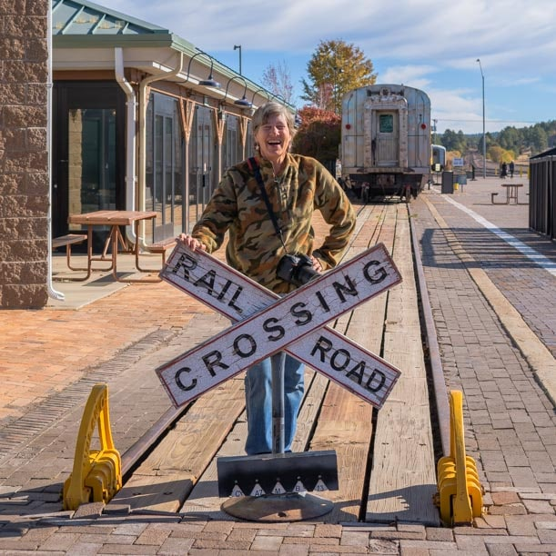 Railroad crossing Williamd Arizona 2-min
