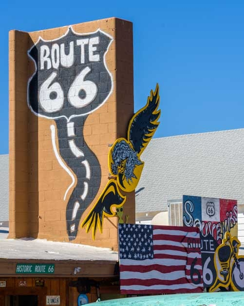 Murals Seligman Arizona on Route 66-min