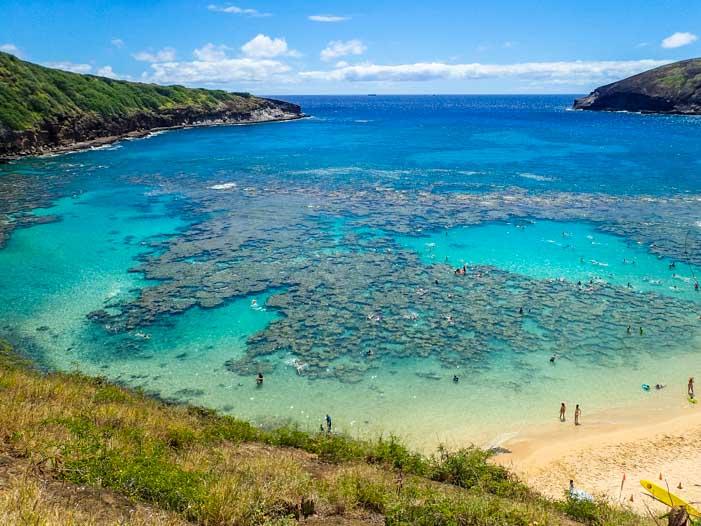Hanauma Bay State Park Oahu Hawaii-min