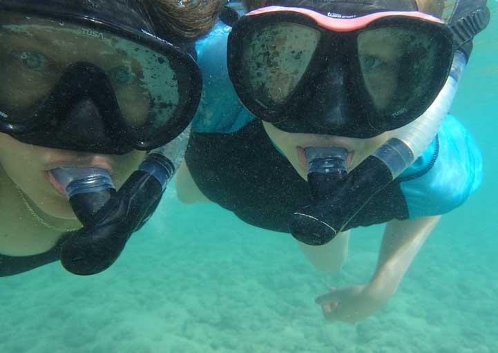 Snorkeling Hanauma Bay State Park Oahu Hawaii-min