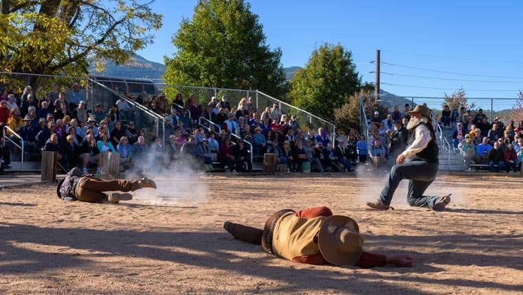Old west gunfight Williams AZ 2-min