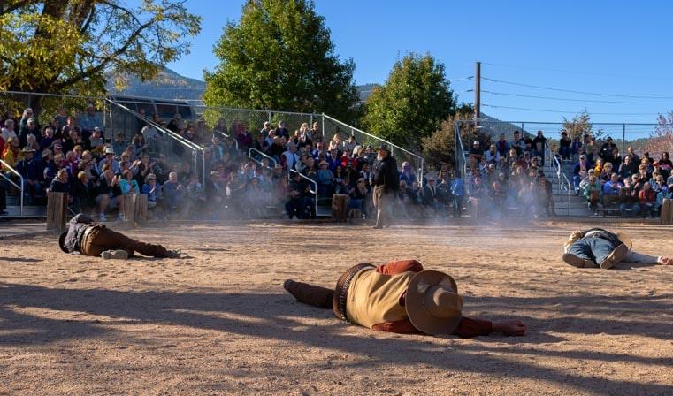 Old west gunfight Williams AZ 3-min