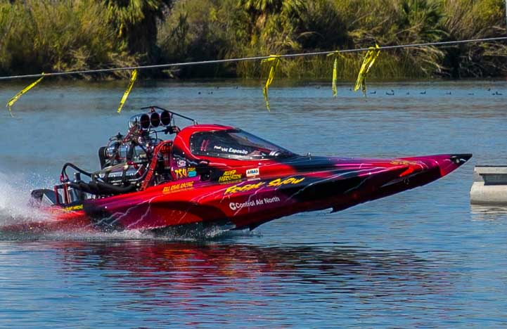 Pro-Outlaw drag boat racing at ADBA Lake Havasu race-min