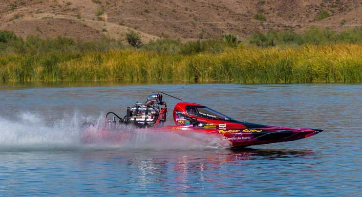 Pro-Outlaw class ADBA drag boat races Lake Havasu-min