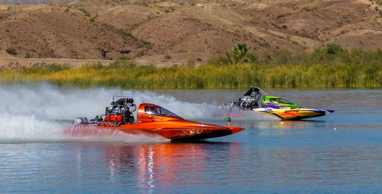 Pro-Outlaw qualifier race Arizona Drag Boat Association Lake Havasu-min