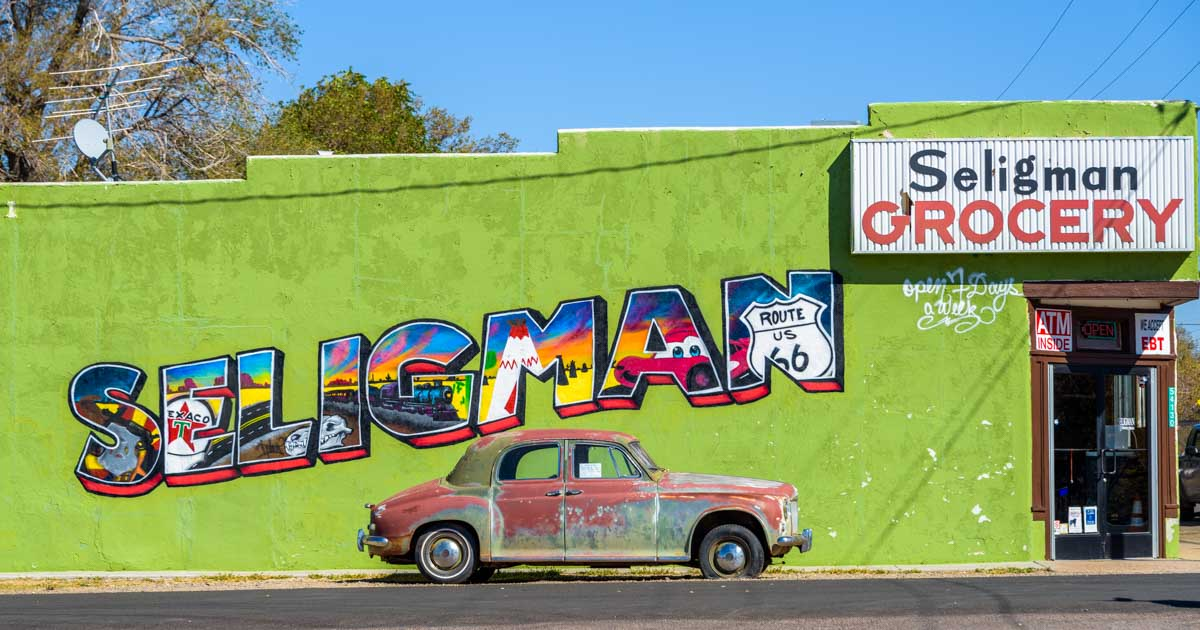 Seligman Arizona Birthplace of Route 66
