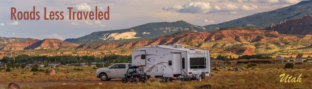 Utah RV trips in the red rocks