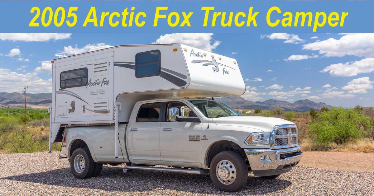2005 Arctic Fox 860 Truck Camper