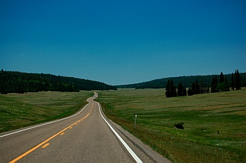 All American Road Route 67 Jacobs Lake AZ to North Rim Grand Canyon Arizona seen from our RV