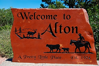Welcome to Alton, Utah